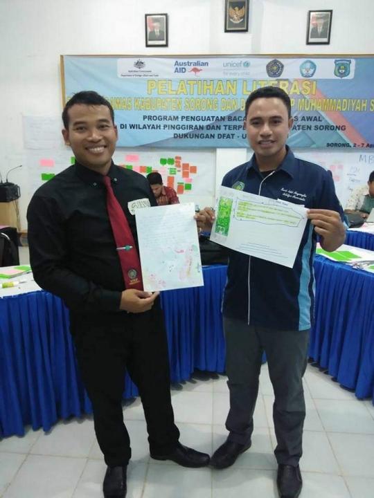 Perwakilan PGSD dan Pendidikan Bahasa Indonesia (Pelatihan Literasi)